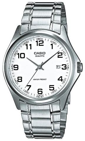 Casio Collection Herreklokke MTP-1183PA-7BEF Hvit/Stål Ø42 mm - Casio