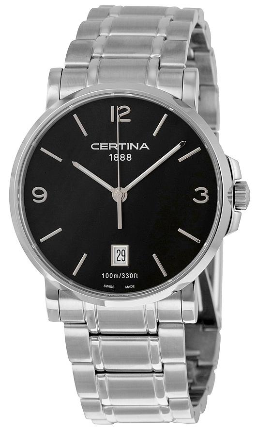 Certina DS Caimano Gent Herreklokke C017.410.11.057.00 Sort/Stål - Certina