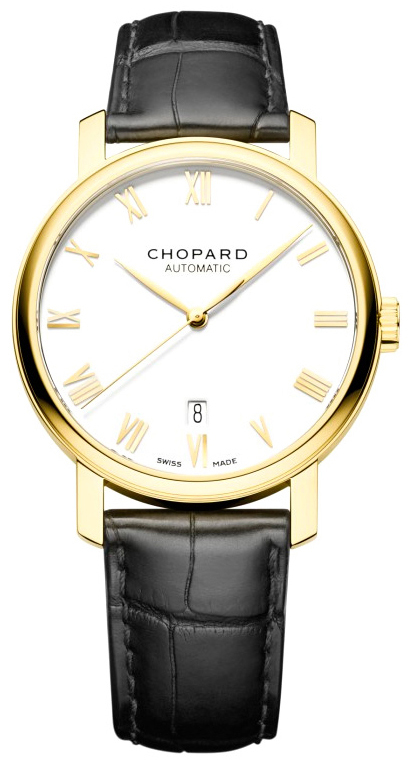 Chopard Classic Herreklokke 161278-0002 Hvit/Lær Ø40 mm - Chopard