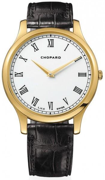 Chopard L.U.C XP Herreklokke 161902-0001 Hvit/Lær Ø39.5 mm - Chopard