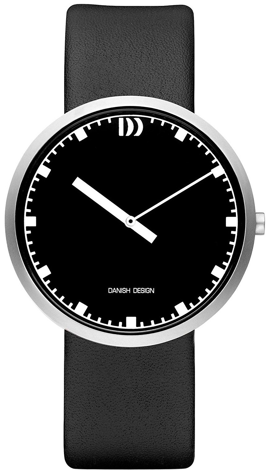 Danish Design Dress Herreklokke IQ13Q1212 Sort/Lær Ø42 mm - Danish Design