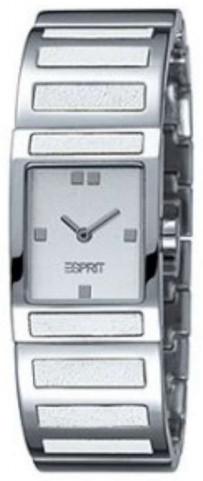 Esprit Dress Dameklokke ES900092001 Hvit/Stål - Esprit