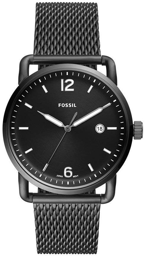 Fossil 99999 Herreklokke FS5419 Sort/Stål Ø42 mm - Fossil