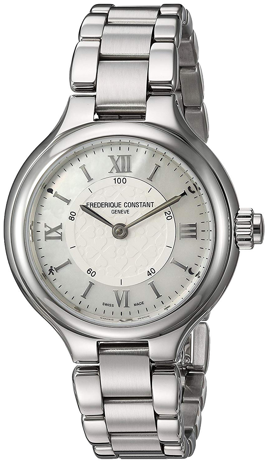 Frederique Constant Horological Smartwatch Dameklokke FC-281WH3ER6B - Frederique Constant