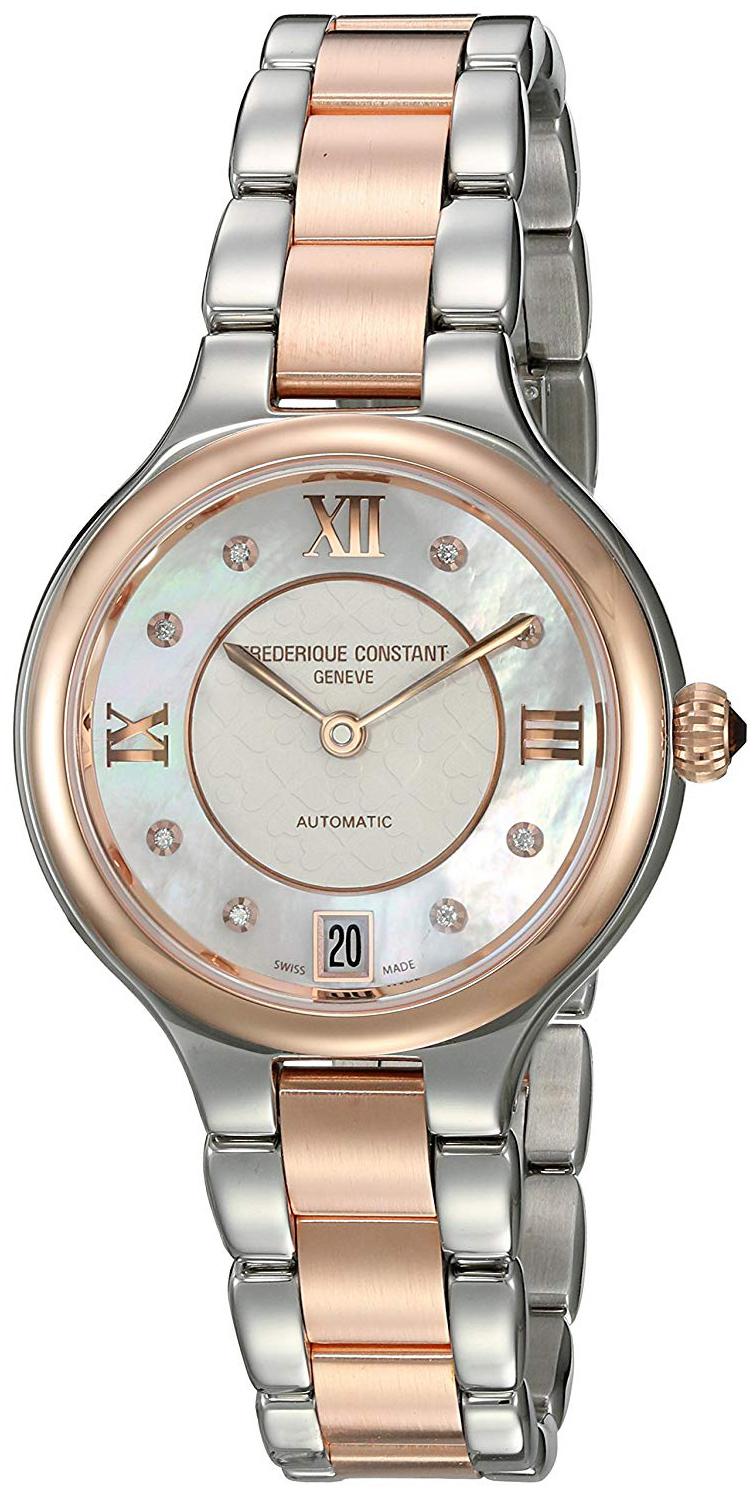 Frederique Constant Classics Dameklokke FC-306WHD3ER2B - Frederique Constant