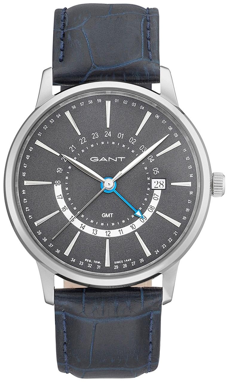 Gant Chester Herreklokke GT026001 Grå/Lær Ø42 mm - Gant