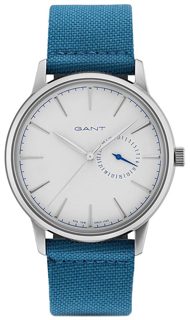 Gant Stanford Herreklokke GT048002 Hvit/Lær Ø42 mm - Gant