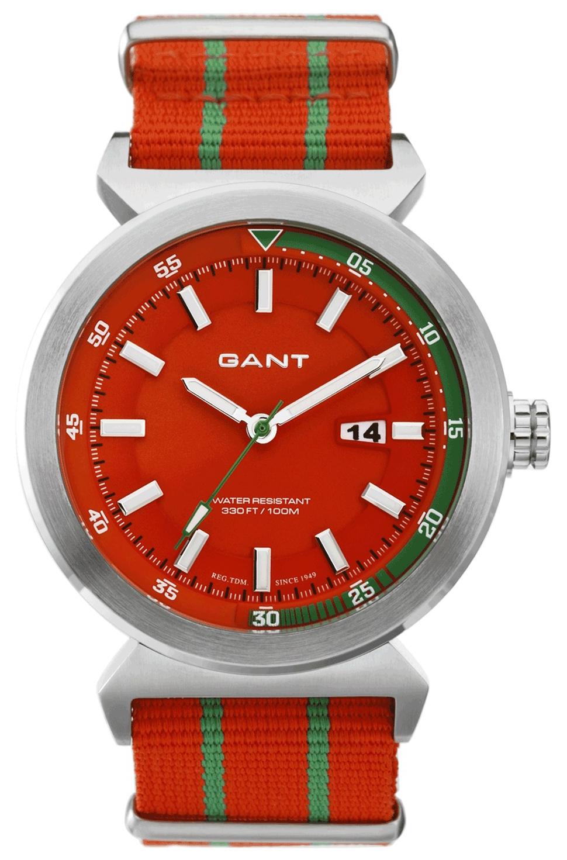 Gant Bradley Herreklokke W70274 Orange/Stål Ø45 mm - Gant