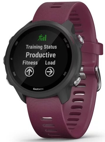 Garmin Forerunner 245 010-02120-11 Sort/Gummi Ø42.3 mm - Garmin