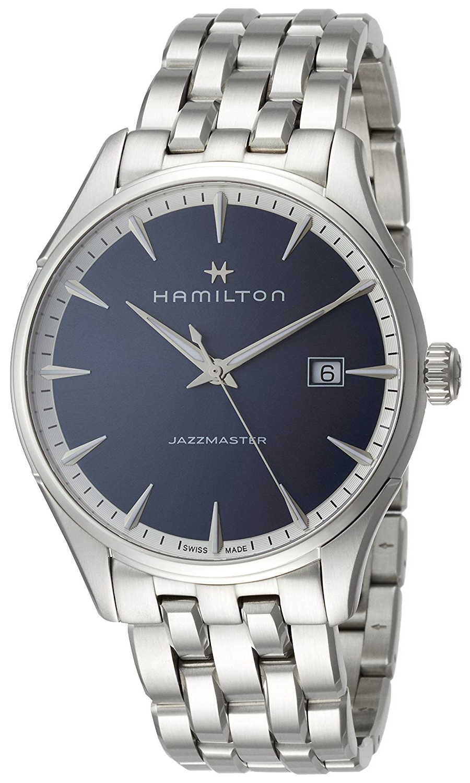 Hamilton Jazzmaster Herreklokke H32451141 Blå/Stål Ø40 mm - Hamilton