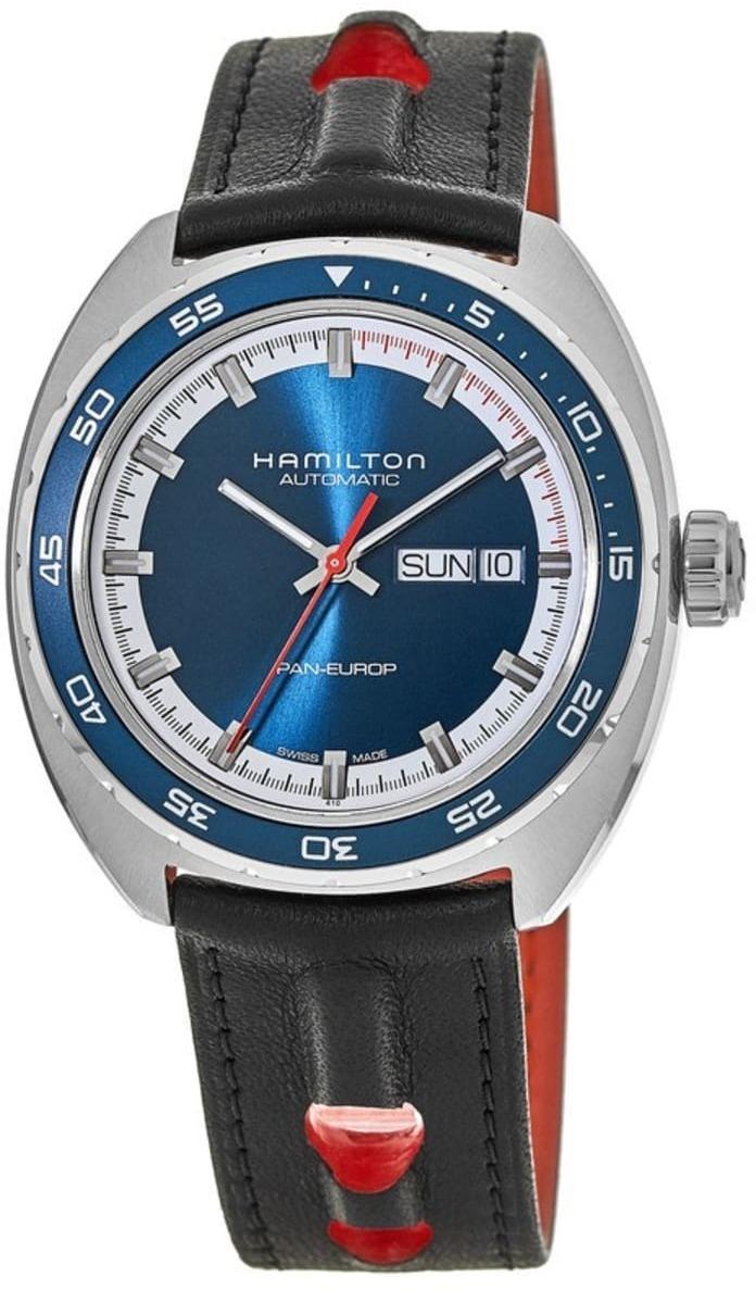 Hamilton American Classic Herreklokke H35405741 Timeless Blå/Tekstil - Hamilton