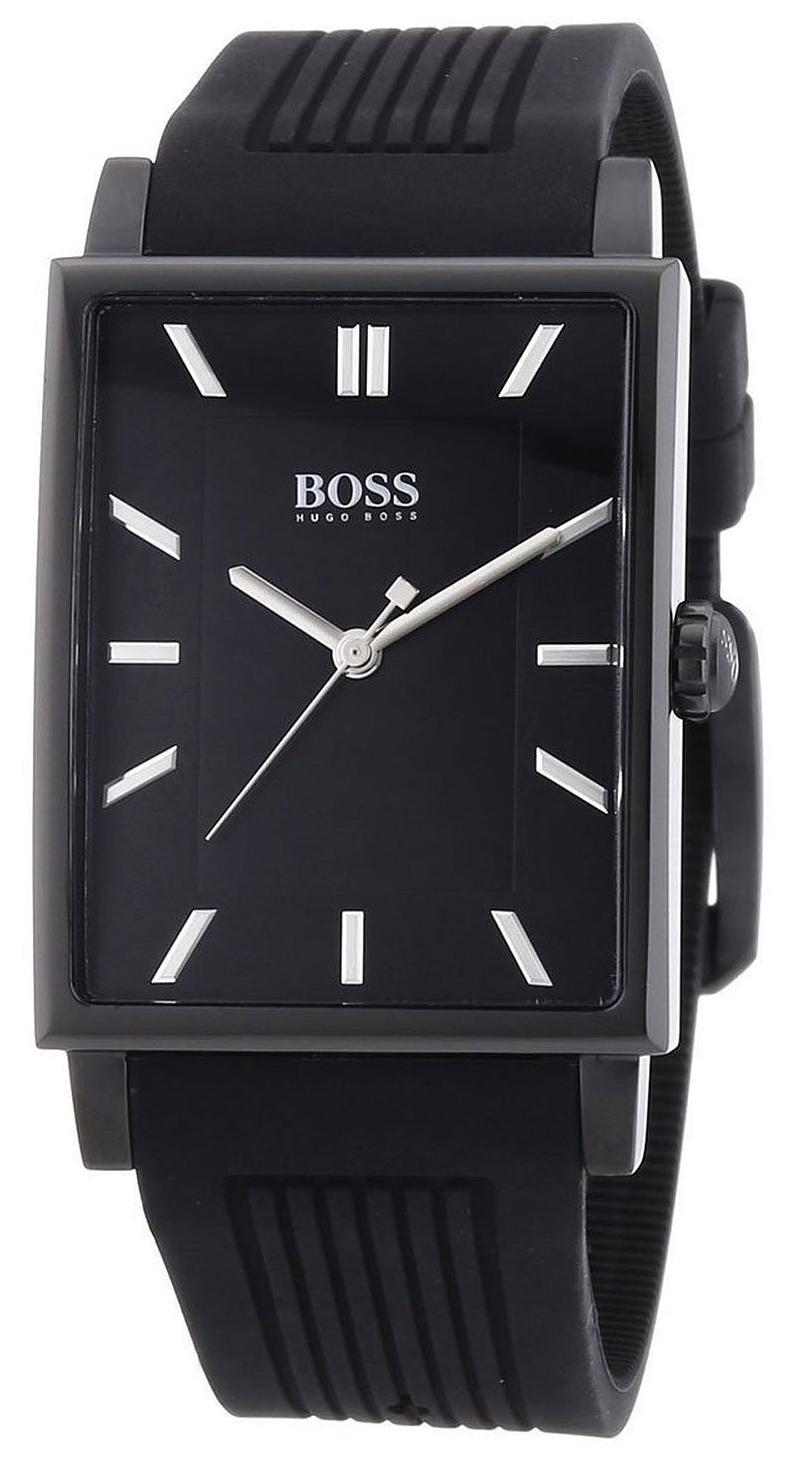Hugo Boss Modern Herreklokke 1513225 Sort/Gummi - Hugo Boss