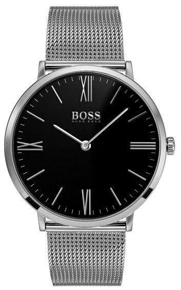 Hugo Boss Jackson Herreklokke 1513514 Sort/Stål Ø40 mm - Hugo Boss