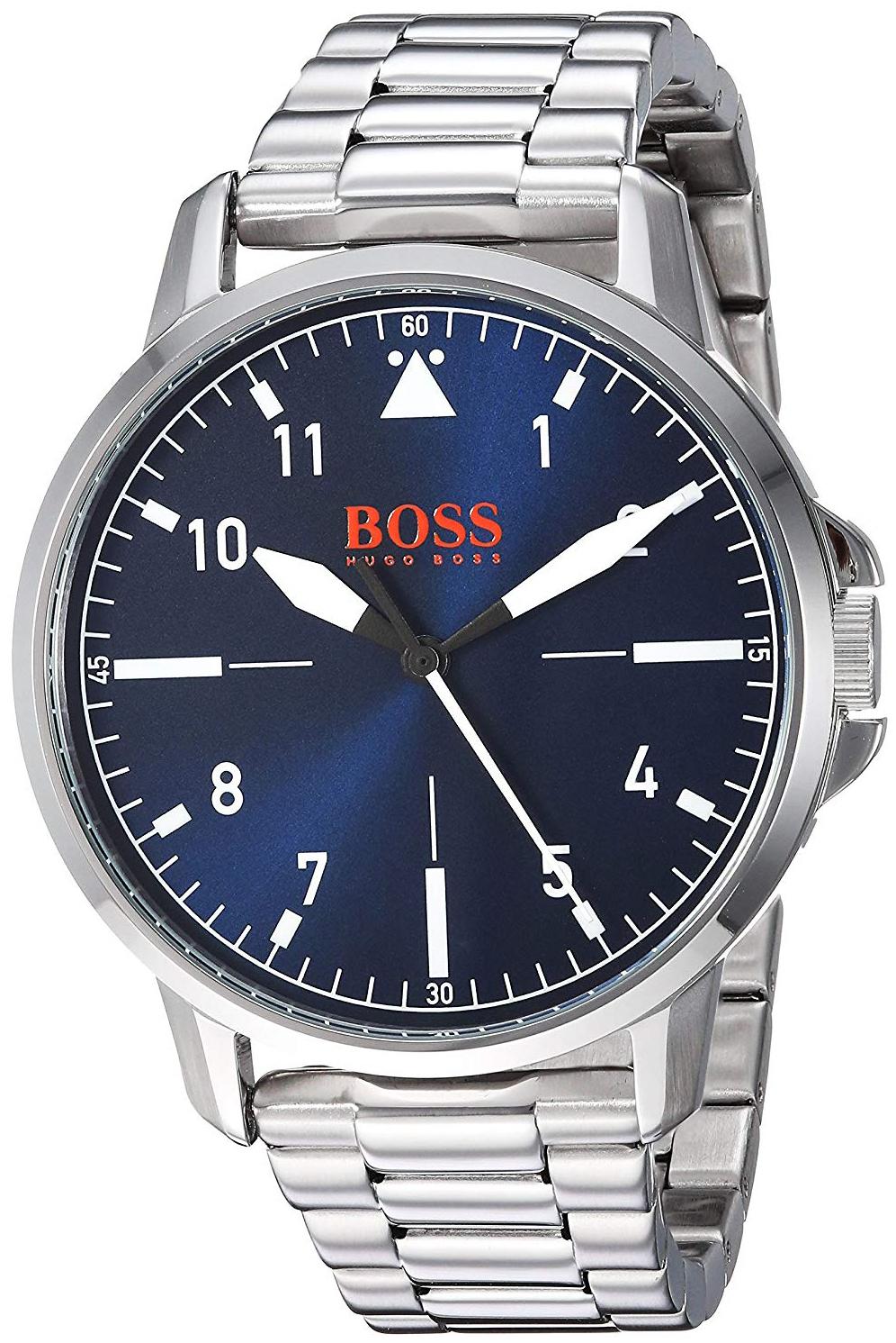 Hugo Boss Chicago Herreklokke 1550063 Blå/Stål Ø42 mm - Hugo Boss