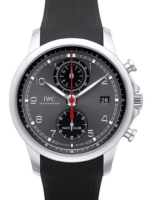 IWC Portuguese Herreklokke IW390503 Grå/Gummi Ø43.5 mm - IWC