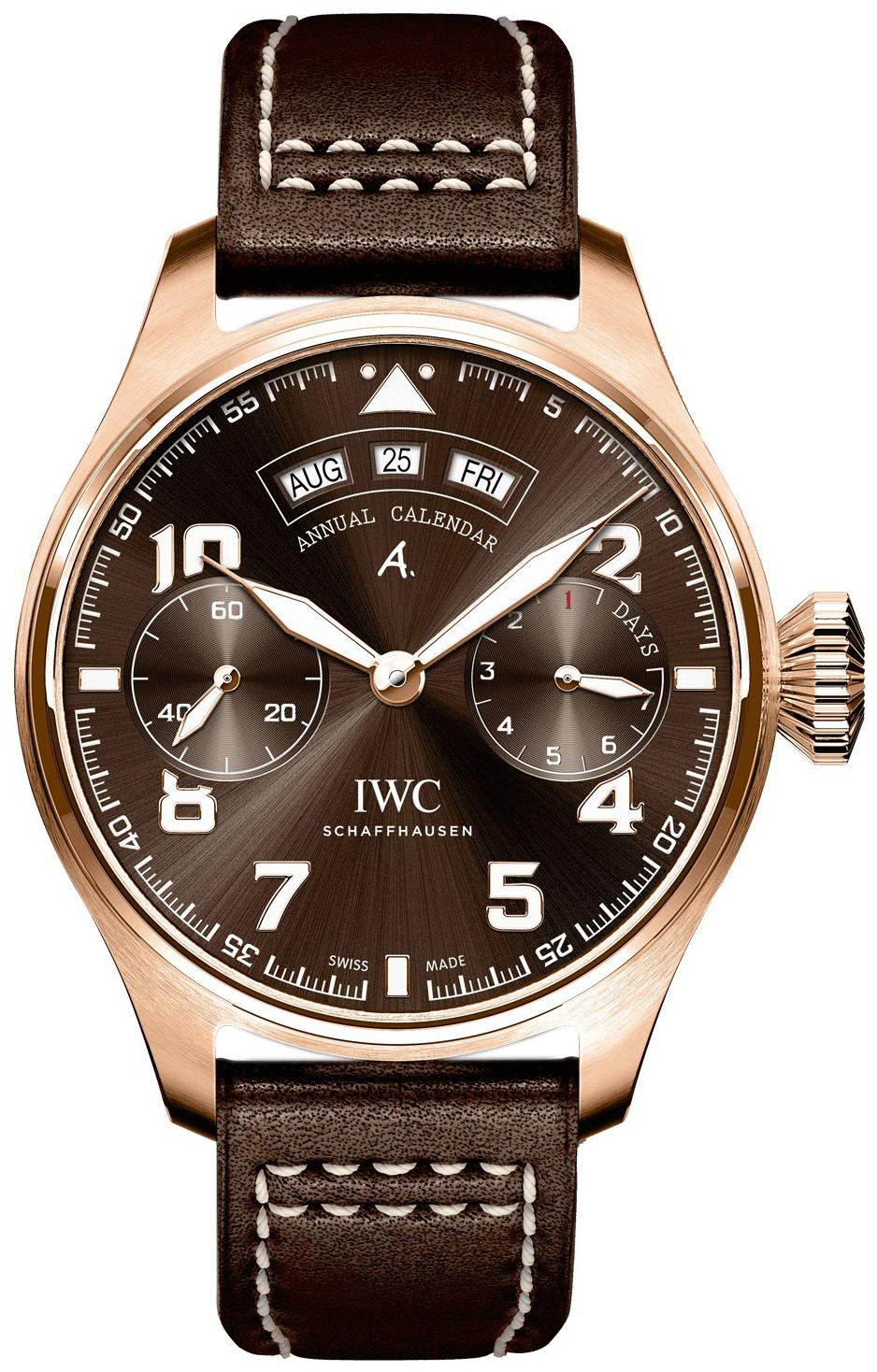 IWC Pilots Spitfire Herreklokke IW502706 Brun/Lær Ø46.2 mm - IWC