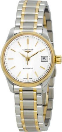 Longines Master Dameklokke L2.128.5.12.7 Hvit/18 karat gult gull - Longines