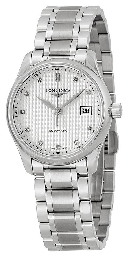 Longines Master Dameklokke L2.257.4.77.6 Sølvfarget/Stål Ø29 mm - Longines