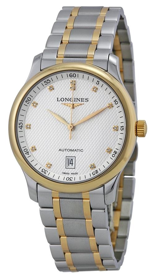 Longines Master Herreklokke L2.628.5.77.7 Sølvfarget/Stål Ø38.5 mm - Longines