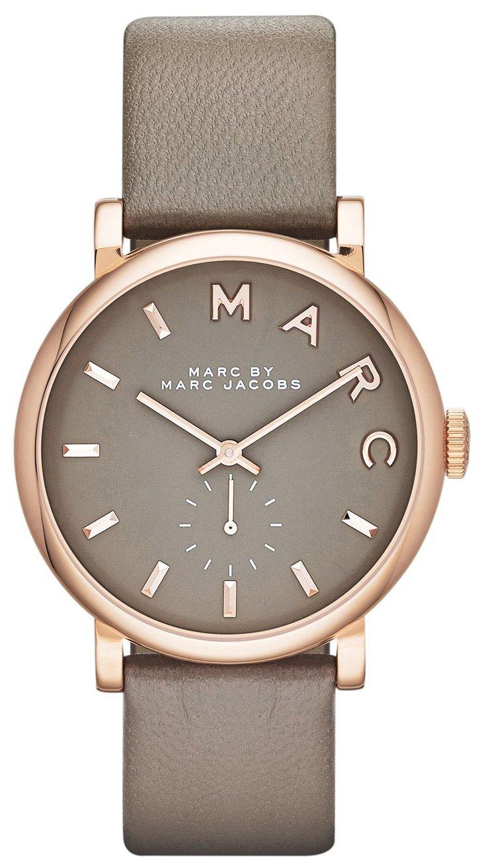 Marc by Marc Jacobs Dameklokke MBM1266 Brun/Lær Ø37 mm - Marc by Marc Jacobs
