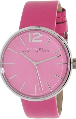 Marc by Marc Jacobs Dress Dameklokke MBM1363 Rosa/Lær Ø36 mm - Marc by Marc Jacobs