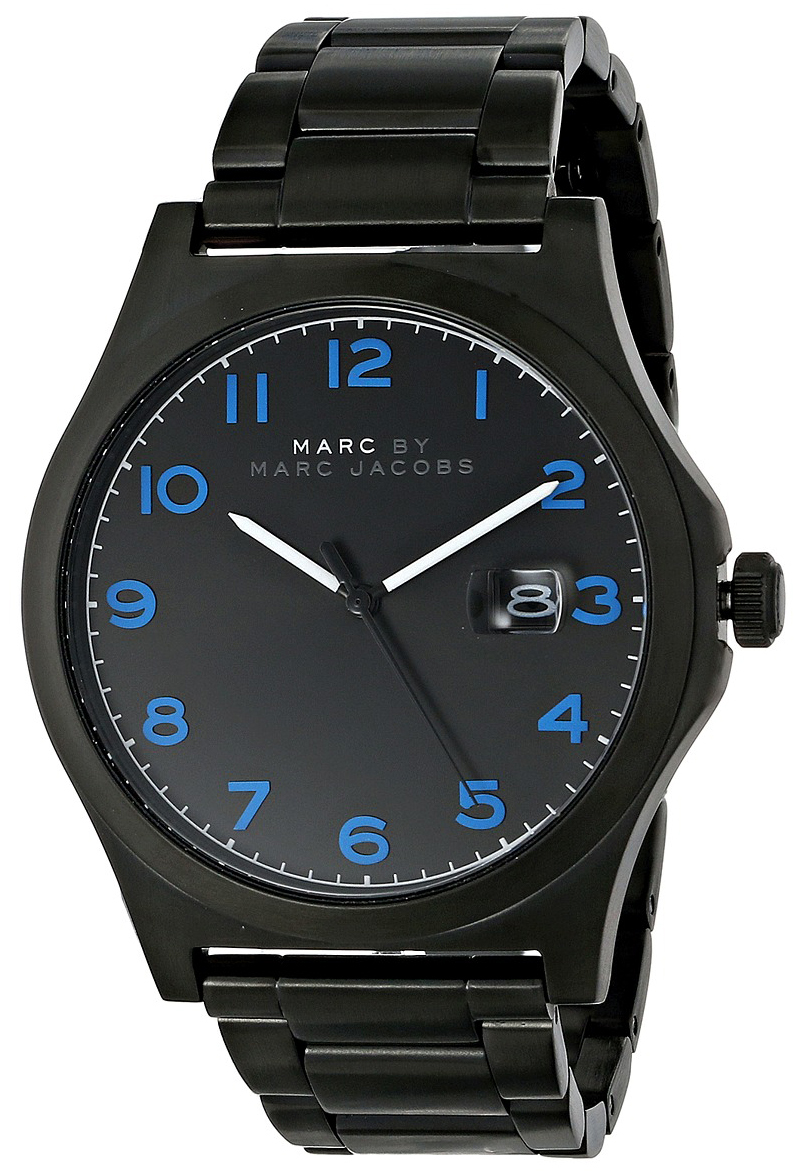 Marc by Marc Jacobs 99999 Herreklokke MBM5059 Sort/Stål Ø43 mm - Marc by Marc Jacobs