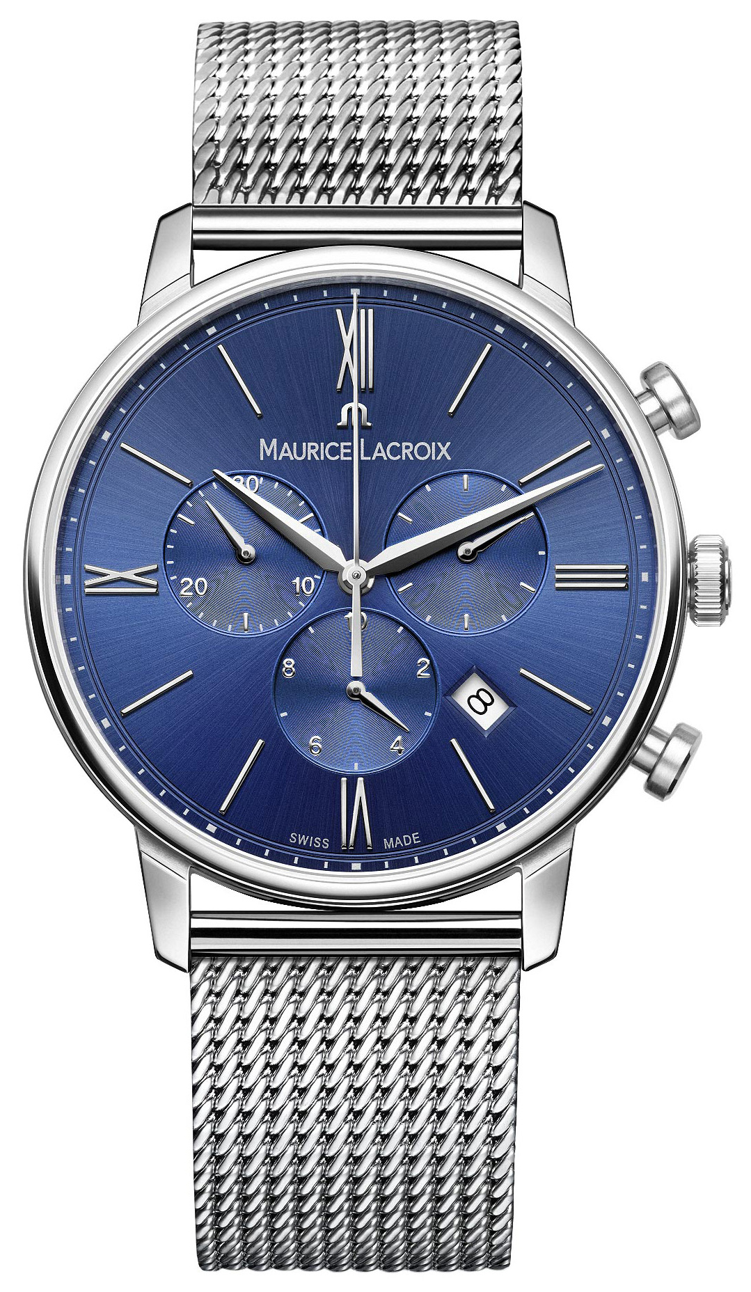 Maurice Lacroix Eliros Chronograph Herreklokke EL1098-SS002-410-1 - Maurice Lacroix