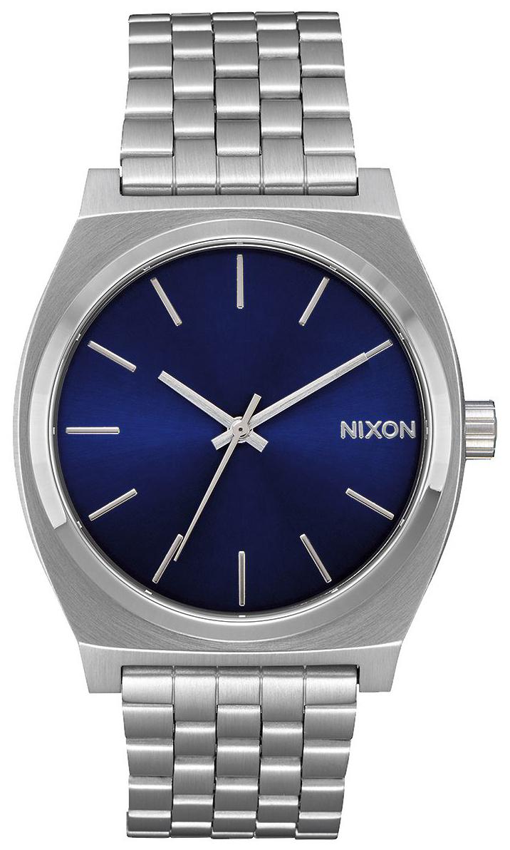 Nixon The Time Teller Herreklokke A0451258-00 Blå/Stål - Nixon