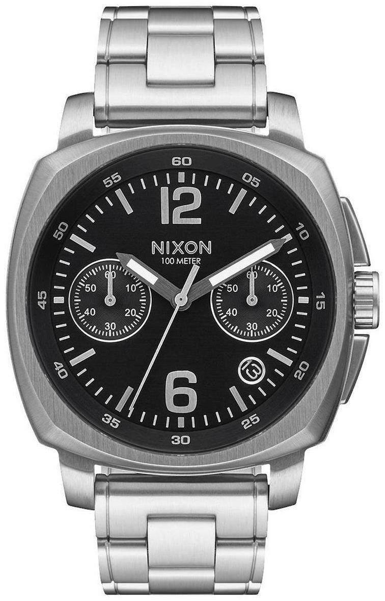 Nixon 99999 Herreklokke A1071000-00 Sort/Stål - Nixon