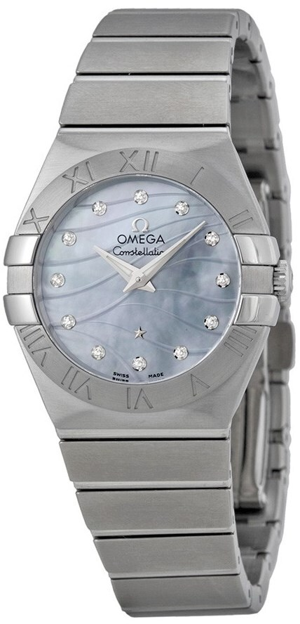 Omega Constellation Quartz 27mm Dameklokke 123.10.27.60.57.001 - Omega