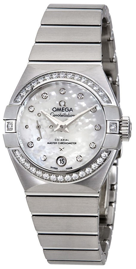 Omega Constellation Co-Axial 27Mm Dameklokke 127.15.27.20.55.001 - Omega