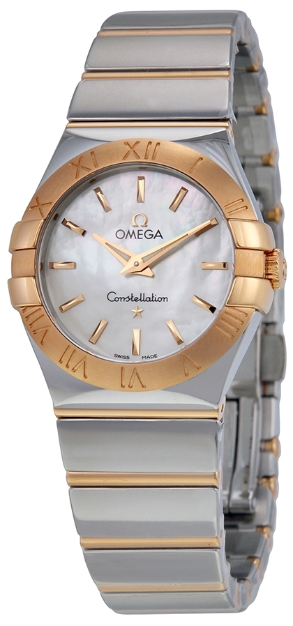 Omega Constellation Quartz 27mm Dameklokke 123.20.27.60.05.003 - Omega