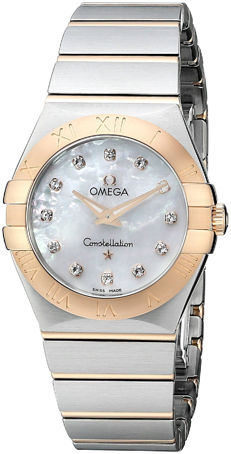 Omega Constellation Quartz 27mm Dameklokke 123.20.27.60.55.001 - Omega