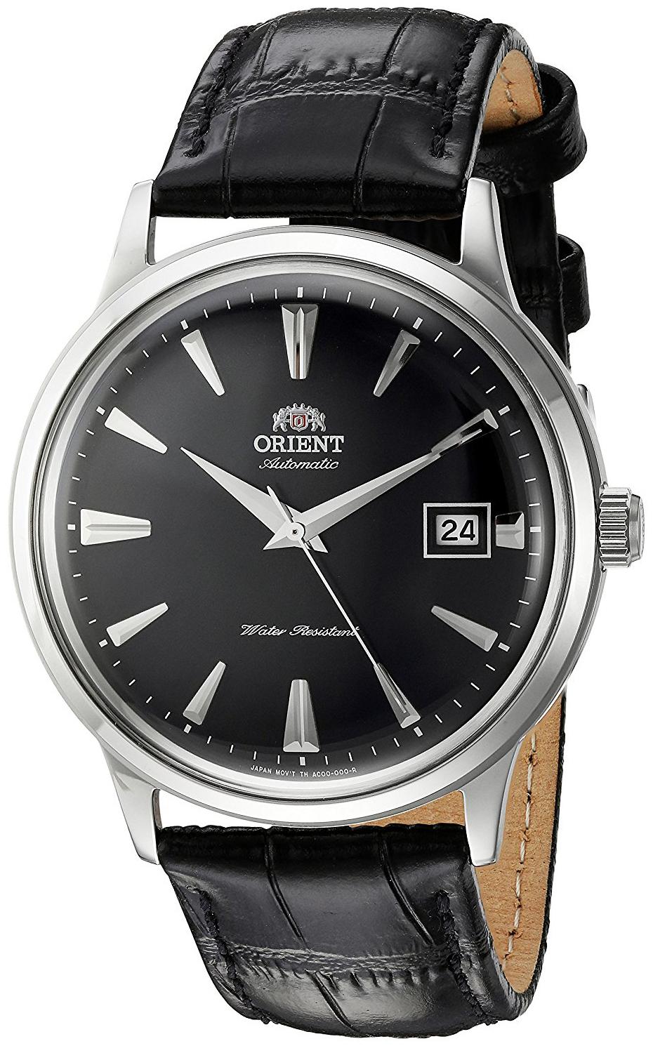 Orient Classic Herreklokke FAC00004B0 Sort/Lær Ø41 mm - Orient