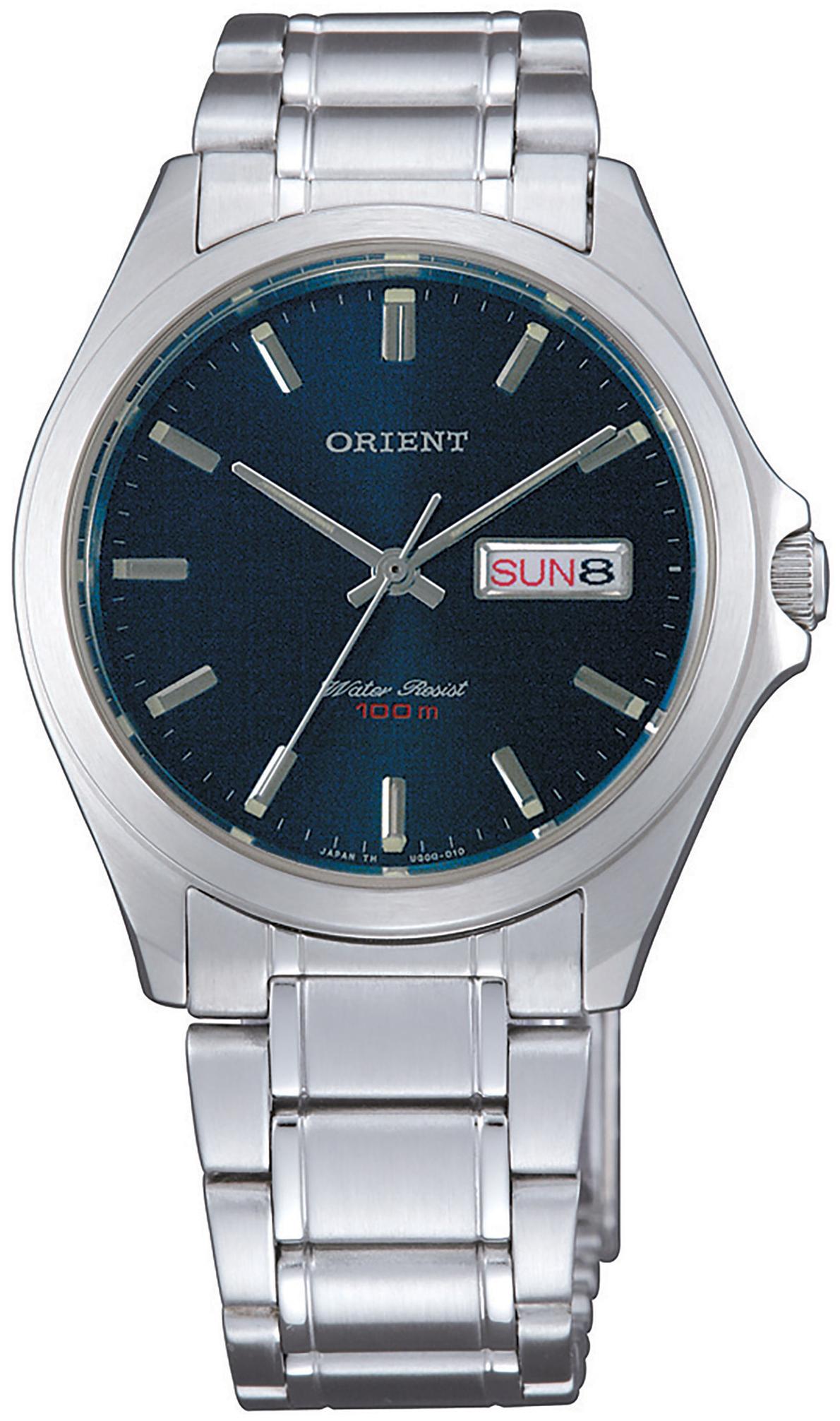 Orient Contemporary FUG0Q004D6 Blå/Stål Ø35 mm - Orient