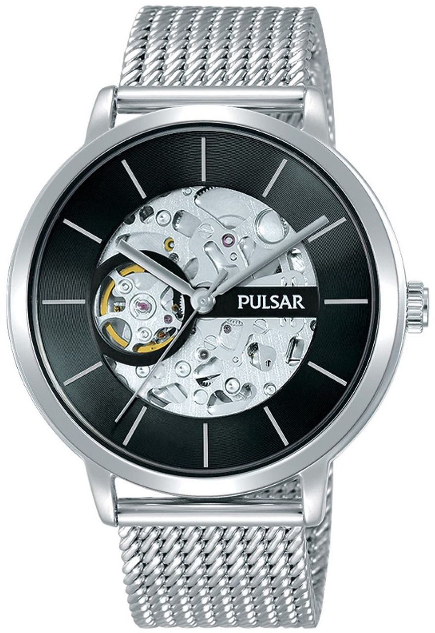 Pulsar 99999 Herreklokke P8A001X2 Sort/Stål Ø42 mm - Pulsar