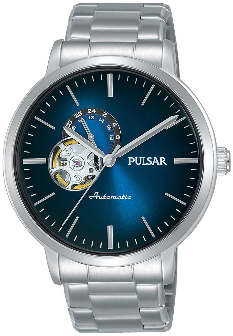 Pulsar 99999 Herreklokke P9A001X1 Blå/Stål Ø42 mm - Pulsar