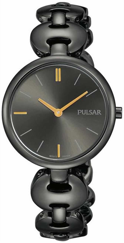 Pulsar Attitude Dameklokke PM2269X1 Sort/Stål Ø29 mm - Pulsar
