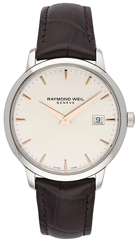 Raymond Weil Toccata Herreklokke 5488-SL5-65001 Sølvfarget/Lær Ø39 - Raymond Weil