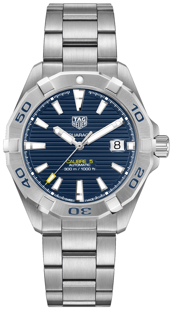 TAG Heuer Aquaracer Herreklokke WBD2112.BA0928 Blå/Stål Ø41 mm - TAG Heuer