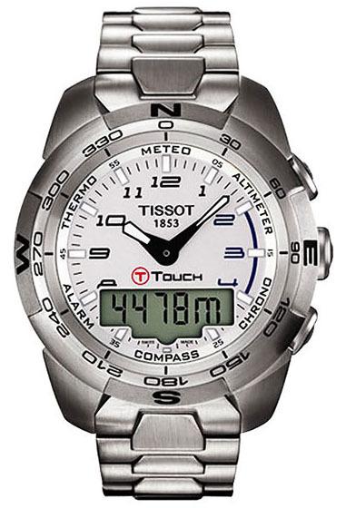 Tissot T-Touch Herreklokke T013.420.11.032.00 Sølvfarget/Stål - Tissot