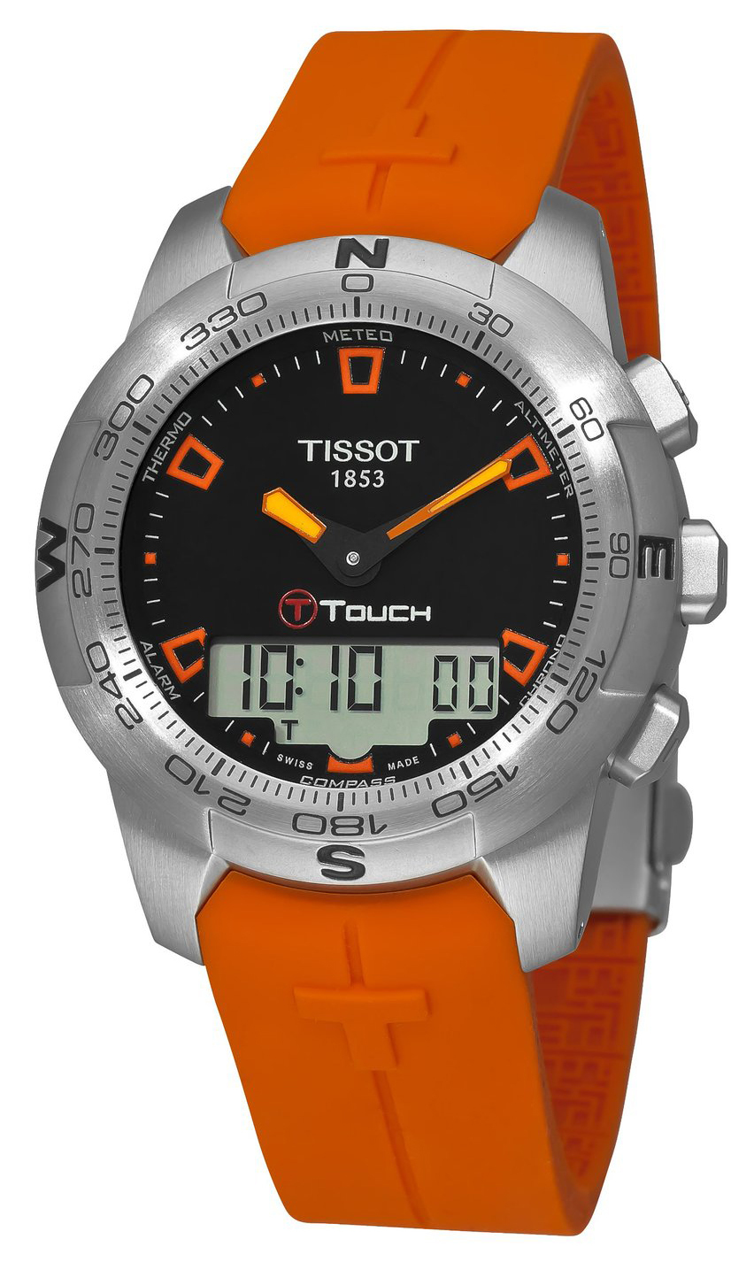 Tissot Herreklokke T047.420.17.051.01 Sort/Gummi Ø43 mm - Tissot