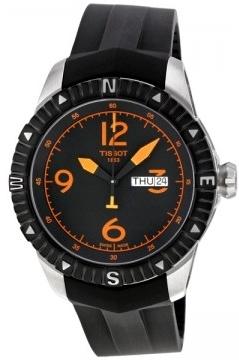 Tissot T-Navigator Herreklokke T062.430.17.057.01 Sort/Gummi Ø44 mm - Tissot
