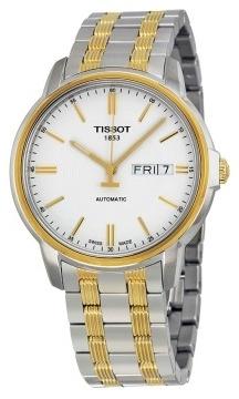 Tissot Herreklokke T065.430.22.031.00 Hvit/Gulltonet stål Ø40 mm - Tissot
