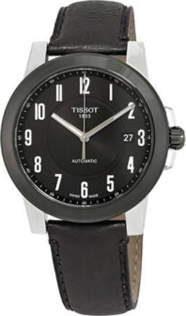 Tissot T-Classic Herreklokke T098.407.26.052.00 Sort/Lær Ø44 mm - Tissot