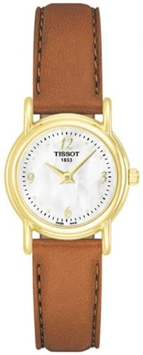 Tissot T-Gold Dameklokke T71.3.170.74 Lær Ø22 mm - Tissot
