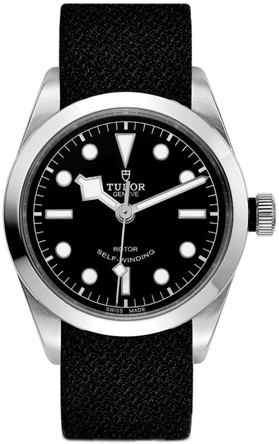 Tudor Black Bay 36 79500-0010 Sort/Tekstil Ø36 mm