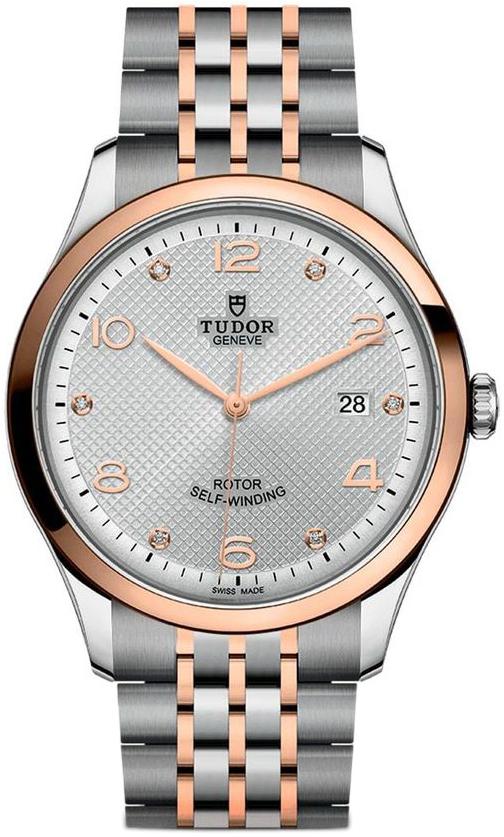 Tudor 1926 Herreklokke 91651-0002 Sølvfarget/Rose-gulltonet stål - Tudor
