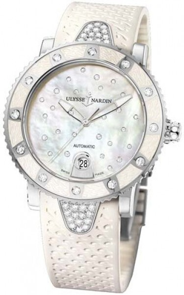 Ulysse Nardin Ladies Diver Starry Night Dameklokke 8103-101E-3C-20 - Ulysse Nardin