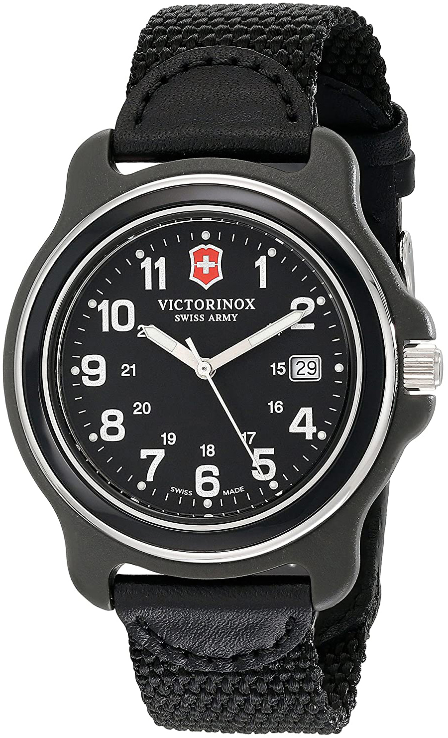 Victorinox 99999 Herreklokke 249087 Sort/Tekstil Ø43 mm - Victorinox